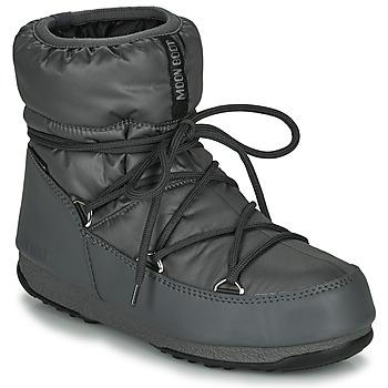 Boty Ženy Zimní boty Moon Boot MOON BOOT LOW NYLON WP 2 Šedá