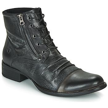 Boty Muži Kotníkové boty Kdopa MANSHESTER Černá