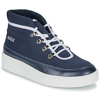Boty Ženy Kotníkové boty Aigle SKILON MID Tmavě modrá