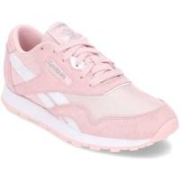 Boty Dívčí Nízké tenisky Reebok Sport Classic Nylon Růžové