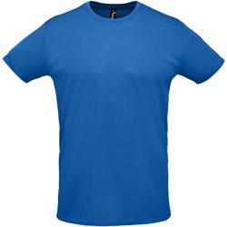 Textil Muži Trička s krátkým rukávem Sols SPRINT SPORTS Azul