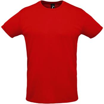 Textil Muži Trička s krátkým rukávem Sols SPRINT SPORTS Rojo
