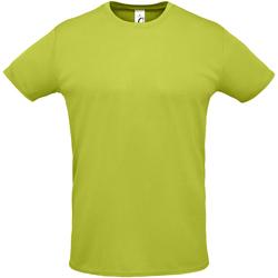 Textil Muži Trička s krátkým rukávem Sols SPRINT SPORTS Verde