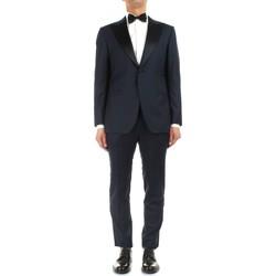Textil Muži Obleky Kiton UASM861K07R1504001 Modrá