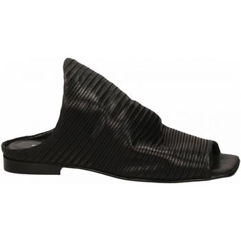 Boty Ženy pantofle Poesie Veneziane VELVET STUOIA nero