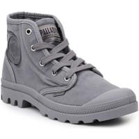 Boty Muži Kotníkové tenisky Palladium Lifestyle shoes  US Pampa Hi Titanium 92352-011-M grey