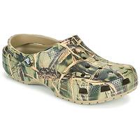 Boty Muži Pantofle Crocs CLASSIC REALTREE Khaki