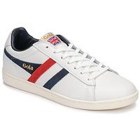 Boty Muži Nízké tenisky Gola EQUIPE Bílá / Modrá / Červená
