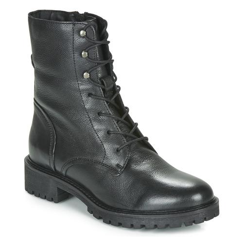 Boty Ženy Kotníkové boty Geox D HOARA Černá