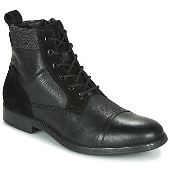 Boty Muži Kotníkové boty Geox U JAYLON Černá