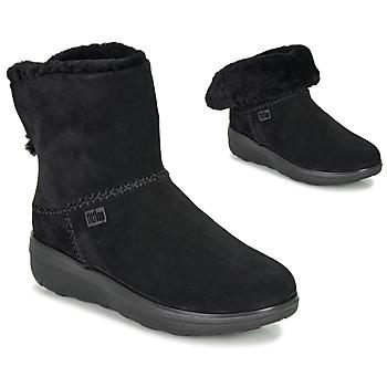 Boty Ženy Kotníkové boty FitFlop MUKLUK SHORTY III Černá