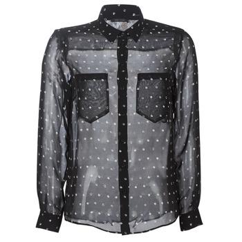 Textil Ženy Košile / Halenky Ikks BP12165-02 Černá