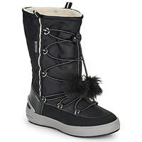 Boty Dívčí Zimní boty Geox J SLEIGH GIRL B ABX Černá