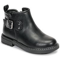 Boty Dívčí Kotníkové boty Geox J ECLAIR GIRL Černá