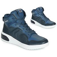 Boty Chlapecké Kotníkové tenisky Geox J XLED BOY Modrá