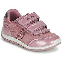 Boty Dívčí Nízké tenisky Geox B SHAAX Růžová