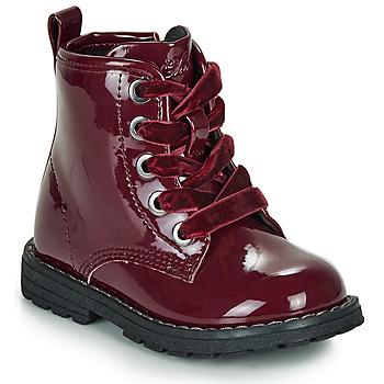Boty Dívčí Kotníkové boty Chicco COLLES Červená