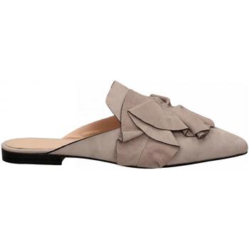 Boty Ženy Pantofle Elvio Zanon CAMOSCIO lavanda