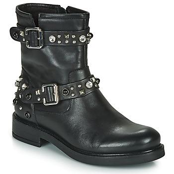 Boty Ženy Kotníkové boty Café Noir CHARLIE Černá