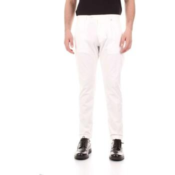 Textil Muži Kapsáčové kalhoty Bicolore F2576-ZINCO Bílá