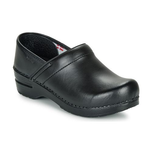 Boty Ženy Pantofle Sanita PROF Černá