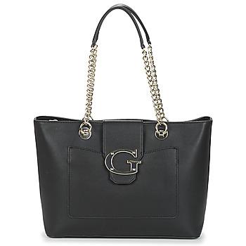 Taška Ženy Velké kabelky / Nákupní tašky Guess CAMILA Černá