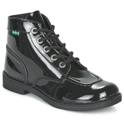 Boty Ženy Kotníkové boty Kickers KICK COL Černá
