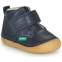 Boty Chlapecké Kotníkové boty Kickers SABIO Tmavě modrá