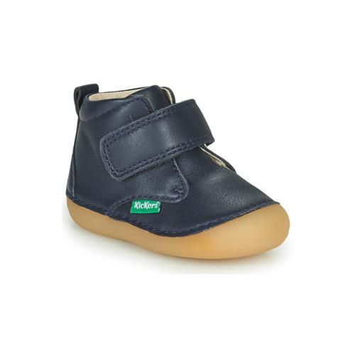 Boty Děti Kotníkové boty Kickers SABIO Tmavě modrá