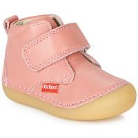 Boty Dívčí Kotníkové boty Kickers SABIO Růžová