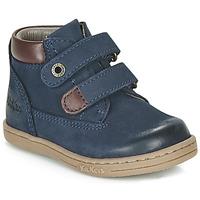 Boty Chlapecké Kotníkové boty Kickers TACKEASY Tmavě modrá