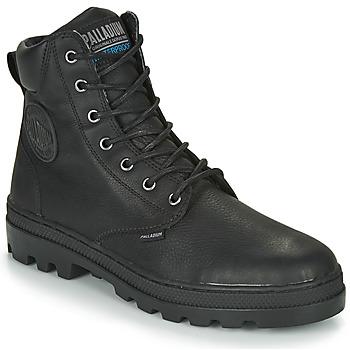 Boty Muži Kotníkové boty Palladium PALLABOSSE SC WP Černá