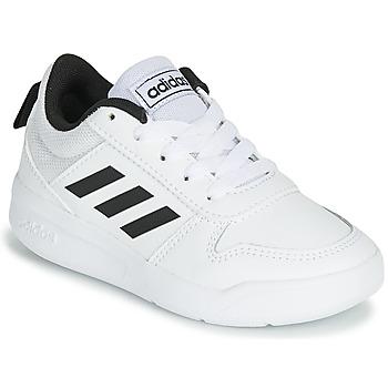 Boty Děti Nízké tenisky adidas Performance VECTOR K Bílá / Černá