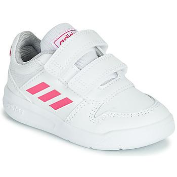 Boty Dívčí Nízké tenisky adidas Performance VECTOR I Bílá / Růžová