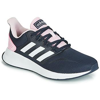 Boty Ženy Nízké tenisky adidas Performance RUNFALCON Černá / Růžová
