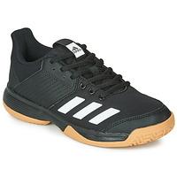 Boty Děti Sálová obuv adidas Performance LIGRA 6 YOUTH Černá
