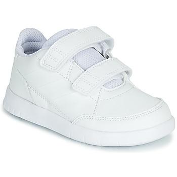 Boty Děti Nízké tenisky adidas Performance ALTASPORT CF I Bílá