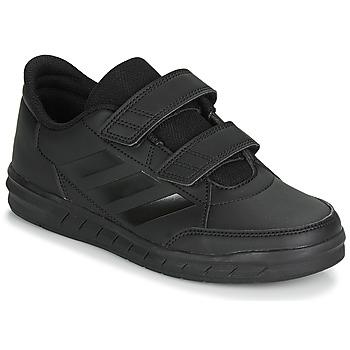 Boty Děti Nízké tenisky adidas Performance ALTASPORT CF K Černá