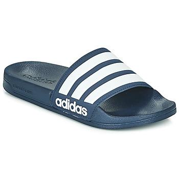 Boty pantofle adidas Performance ADILETTE SHOWER Tmavě modrá
