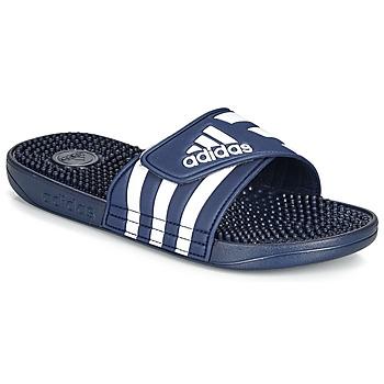 Boty pantofle adidas Performance ADISSAGE Tmavě modrá