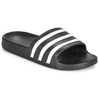 Boty pantofle adidas Performance ADILETTE AQUA Černá / Bílá