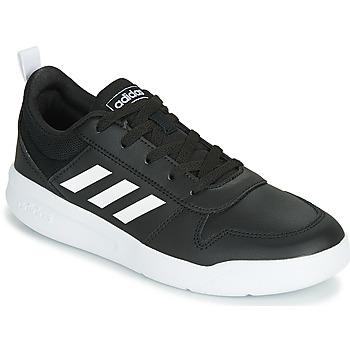 Boty Děti Nízké tenisky adidas Performance VECTOR K Černá / Bílá