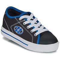 Boty Chlapecké Boty s kolečky Heelys CLASSIC X2 Černá / Bílá / Modrá