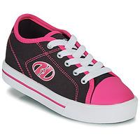 Boty Dívčí Boty s kolečky Heelys CLASSIC X2 Černá / Růžová
