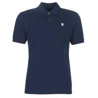 Textil Muži Polo s krátkými rukávy G-Star Raw DUNDA SLIM POLO Modrá