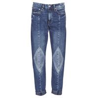 Textil Ženy Rifle boyfriend G-Star Raw 3301-L MID BOYFRIEND DIAMOND Modrá / Světlá / Sepraná