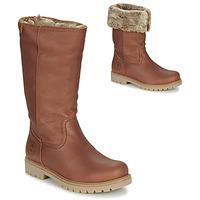 Boty Ženy Kotníkové boty Panama Jack BAMBINA Hnědá