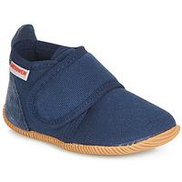 Boty Chlapecké Papuče Giesswein STRASS SLIM FIT Tmavě modrá