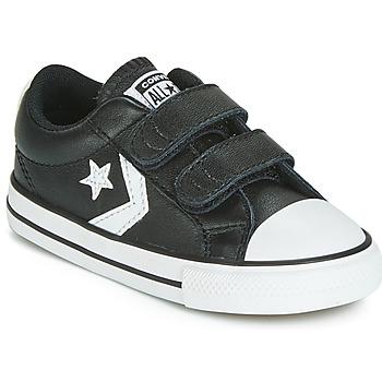 Boty Děti Nízké tenisky Converse STAR PLAYER EV 2V  LEATHER OX Černá