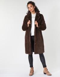 Textil Ženy Kabáty Oakwood CYBER Hnědá